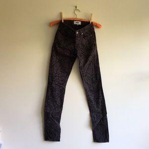 BRAND NEW Paige Leaf Print Pants